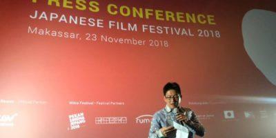 Japanese Film Festival Makassar Konferensi Pers di CVG DGS