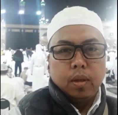 Dari Mekkah Ketua AMPHURI Sulsel Ucapkan Selamat Untuk dokter Yudi
