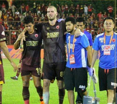 Darije Kalezic Tak Masalah Jika PSM Makassar Bermain Tanpa Wiljan Pluim