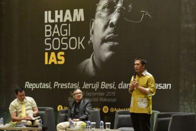 Deng Ical narasumber Bedah Buku IAS