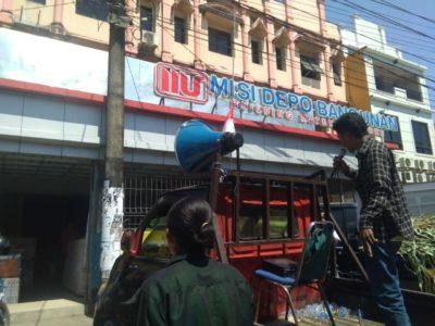 Tak Miliki Izin Amdal Lalin, Mahasiswa Makassar Geruduk Misi Depo Bangunan