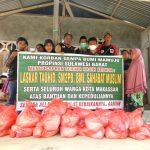 Eksis di Lokasi Bencana Gempa Sulbar, Laskar Tauhid Indonesia Gandeng Para Relawan Kemanusiaan
