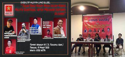 Bahas Politik, Kaum Muda, dan Oligarki, EW LMND Sulsel Gelar Dialog Publik