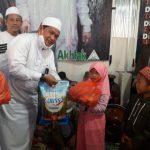 Sambut Bulan Suci Ramadhan, DK HILMI-FPI Makassar Bagikan Paket Sembako