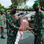 Pangdam Hasanuddin Serahkan Kendaraan Dinas Bantuan Kasad